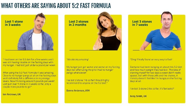 fasting diet plan testimonial